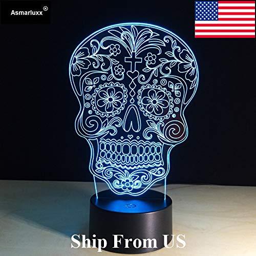 Schiffe aus den USA oder China, die Lichter der Toten, die Batteriefarbwechsel-Tischlampe mit Touch-Lights