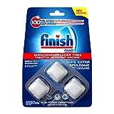 Finish - Pastiglie per la pulizia della lavastoviglie, confezione da 1 (1 x 3 pezzi)