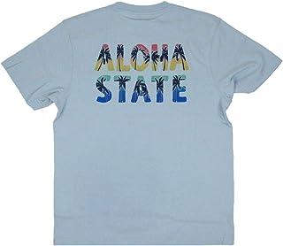 ALOHA MADE アロハメイド メンズ 半袖 Tシャツ (メンズ/サックス) 202MA1ST059 フララニ ハワイアン雑貨 ハワイアン 雑貨 (L)