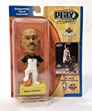 Toronto Raptors Vince Carter Play Makers Bobblehead & Collectible Card