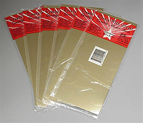 K&S Precision Metals 251 Brass Sheet, 0.010