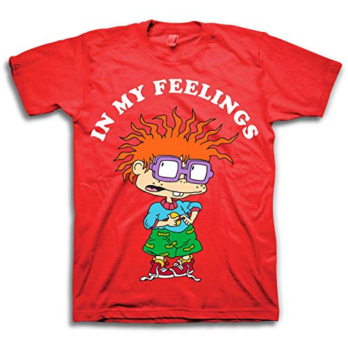 Nickelodeon Men's 90's Classic T-Shirt - Rugrats, Hey Arnold, All That - Vintage Throwback Tee