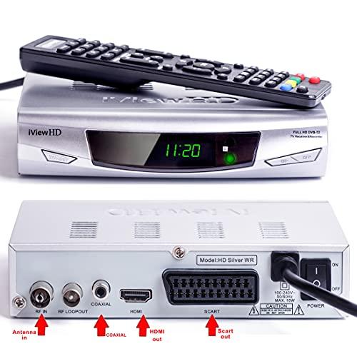 UK-DIGITAL Freeview HD WiFi Ready Digital TV Receiver