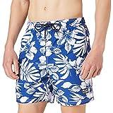 Superdry Hawaiian Swim Short Bermudas, Campus Cobalt, L para Hombre