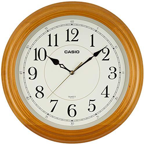 カシオ クオーツ式掛時計 IQ-11-7JF フレーム:白木 1個