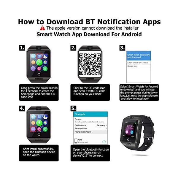 EUKK Smartwatch Reloj Inteligente