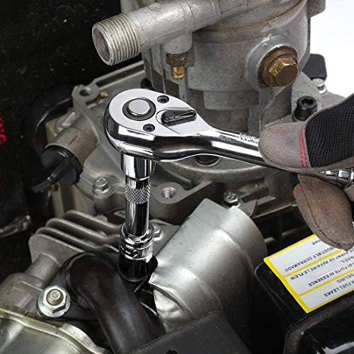 WORKPRO Werkzeugkoffer Mechanik Metall mit 3 Schubladen Heavy Duty Werkzeugschrank (408Stück) - 4