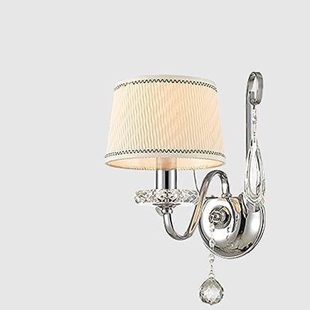 YJH+ クリスタルウォールランプベッドサイドランプシンプルなベッドルームクリスタルウォールランプ 美しく、寛大な ( 三 : A )
