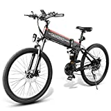 Lixada Bicicletta Elettrica Pieghevole, 48V 500W Bicicletta Elettrica Pieghevole Adulto Regolabile...