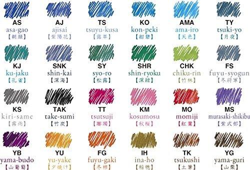 PILOT色彩雫イロシズクミニ3色セット15ml専用ケース入りINK-153色自由に選べます