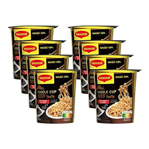 MAGGI Magic Asia Noodle Cup Beef 8x63g