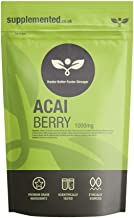 Pure Acai Berry 1000mg 90 Capsules – Diet Weight Loss and Fat Burner Supplement UK Made Pharmaceutical Grade Estimated Price : £ 6,99