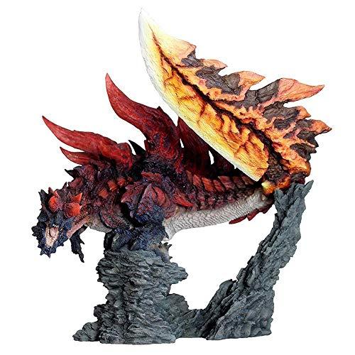 Japón Anime Monster Hunter XX Figura Nergigante Modelos de PVC Figura de acción de decoración con Forma de dragón Caliente Modelo de Juguete, 42 Large Size Glavenus ácido 1