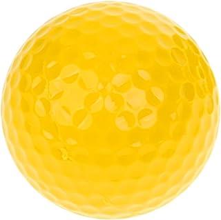 T TOOYFUL ゴルフ練習 ゴルフトレーニング ボール 42.6mm 弾性 イエロー プレゼント ギフト