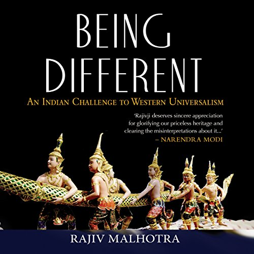 Being Different audiobook cover art