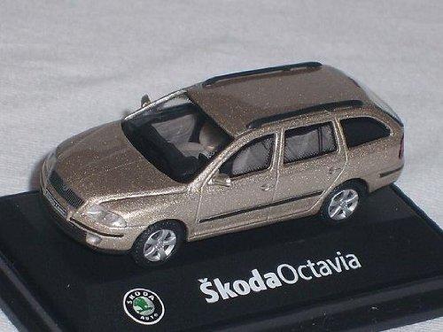 Skoda Octavia ii 2 Kombi Combi Cappuciono Beige 171abd702yb 1/72 Abrex Modellauto Modell Auto