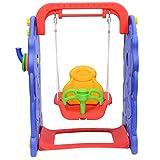 Homcom Columpio Infantil 90x120x66cm Niños de 9 a 36 Meses Carga MAX 50Kg