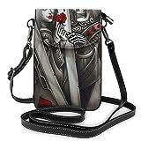 huili Women Girls Mobile Phone Bag Durable Metal Buckle Purse Bolso de hombro del teléfono celular for Family and Friends