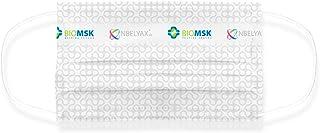 25 Pzas cubrebocas Biomsk plus Gris con nanomolécula reutilizable