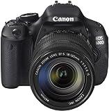 Canon EOS 600D Appareil photo numérique Reflex 18 Mpix Kit Objectif 18-135mm IS Noir