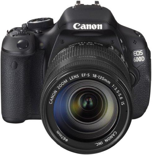 Canon EOS 600D - Cámara réflex Digital de 18 MP (Pantalla articulada de 3