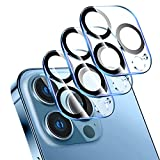 LK 3 Pack Camara Trasera Lente Pantalla Compatible con iPhone 13 Pro/13 Pro MAX Potector de Camara, Protector Camara VidrioTemplado, 9H Dureza,HD Vidrio Templado,Sin Burbujas, Anti-Arañazos
