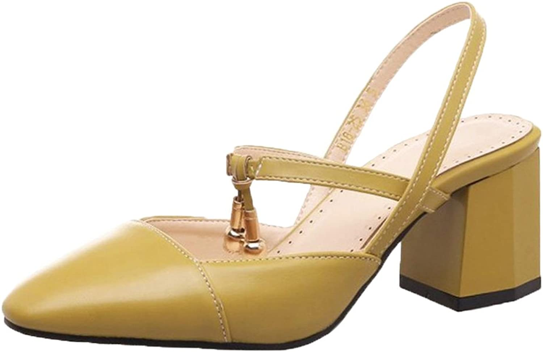 FizaiZifai Women Thick Heel Sandals shoes