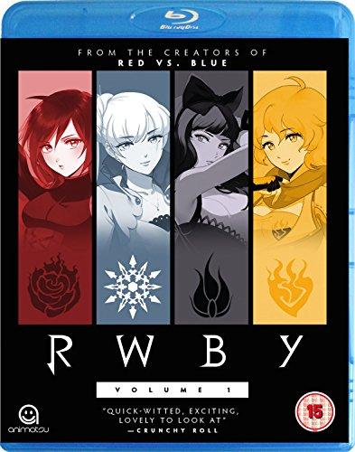RWBY-Vol 1 [Edizione: Regno Unito] [Blu-Ray] [Import]