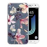 Pnakqil Samsung Galaxy J5 2016 Case, Transparent Clear with