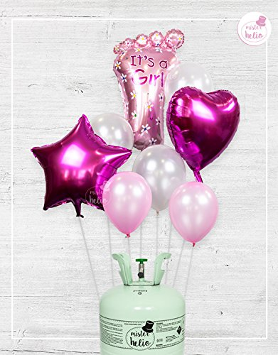 Bombona de Helio Mr.Helio + Globos It's a Girl