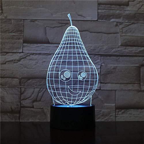 Nachtlicht 3D Illusion/Kamera/Dragon Label/Uhr/Birne/Weihnachtsgeschenkbox / 7 Farben Auto Ändern/Touch Control für Kinder Kamera