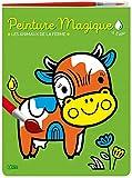 Peinture magique à l'eau - Les animaux de la ferme. Avec un pinceau - Dès 3 ans