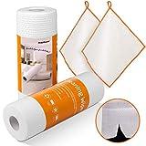 Masthome - Paño de limpieza de microfibra, 20 unidades, 40 x 30 cm, lavable a máquina, tela, Rollos de cocina, 25 x 25 cm