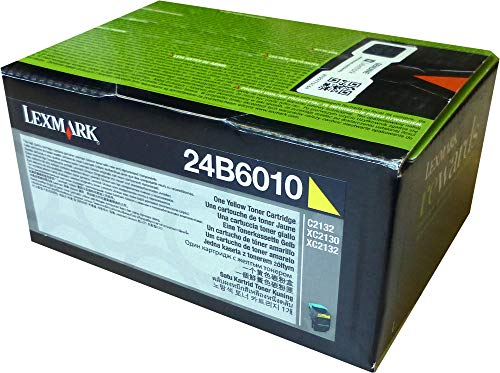 Lexmark 24B6010 Tonerkassette XC2132, 3000 Seiten, gelb