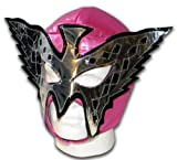 LUCHADORA Princesse Papillon Rose Masque Catch Mexicain Adulte Lucha