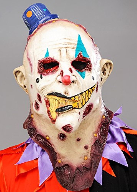 Mens Deluxe Zombie Killer Clown Mask