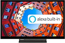Alexa Built In: Whether it's helping the kids with their homework, looking up recipes, or playing your favourite music, simply ask Alexa which is built-in to the Toshiba WK3A Smart TV Built In Microphone: The built in far field microphone lets you co...