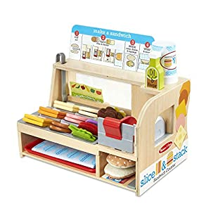 Melissa & Doug Slice & Stack Sandwich Counter - 51KewBQzZCL - Melissa & Doug Slice & Stack Sandwich Counter