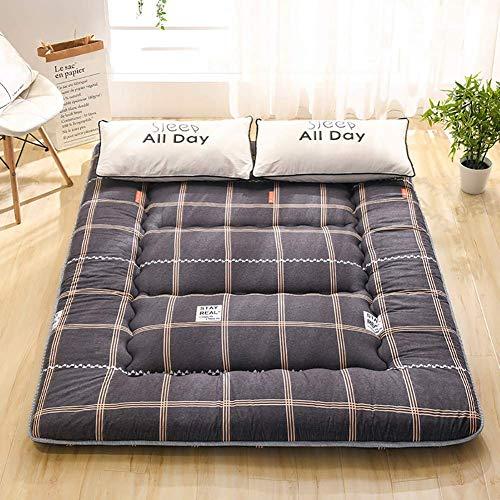 Colchón de tatami japonés, alfombrilla de juego de piso para niños de alto grado Colchón de piso para el hogar Alfombrilla de tatami para dormir para dormitorio A 100 × 200 cm (39,3 × 78 pulgadas)