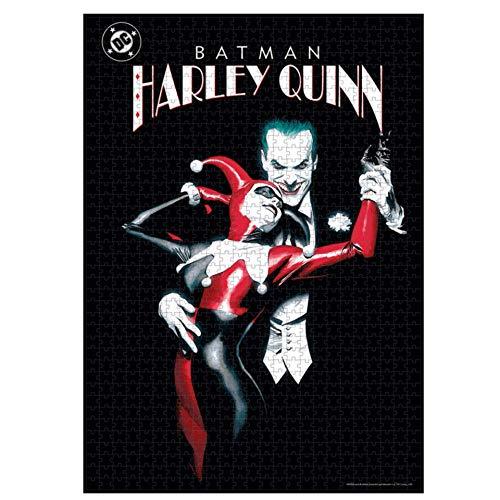 BricoLoco. Puzzle de Joker y Harley Quinn. Puzzle de 1000 piezas.