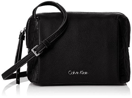 Calvin Klein MISH4 SMALL CROSSBODY, Sacchetto Donna, Nero (Black), 9x14x20 cm (b x h x t)