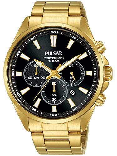 Pulsar Men's Golden Steel Watch