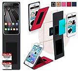 Hülle für Oukitel U7 Plus Tasche Cover Case Bumper | Rot
