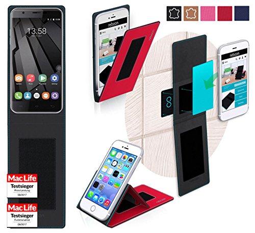Hülle für Oukitel U7 Plus Tasche Cover Hülle Bumper | Rot | Testsieger