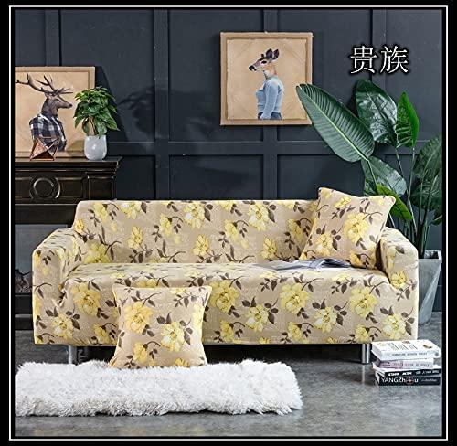 ASCV Afervor Europe Style Funda de sofá elástica Tight Wrap Funda de sofá elástica Universal para sofá seccional Individual Doble de Tres Asientos A6 4 plazas