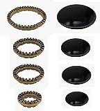 Serie de hornallas para cocina Ariston / Indesit anillas + platillos de latón (8piezas), código:...
