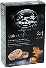 Bradley Smokers BTOK24 Bisquettes Smokers, Oak, 24-Pack