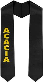 Custom Acacia Graduation Stole Sash