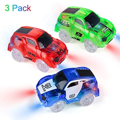 2 x kids fun flexible variable voiture piste batterie remplacement voitures