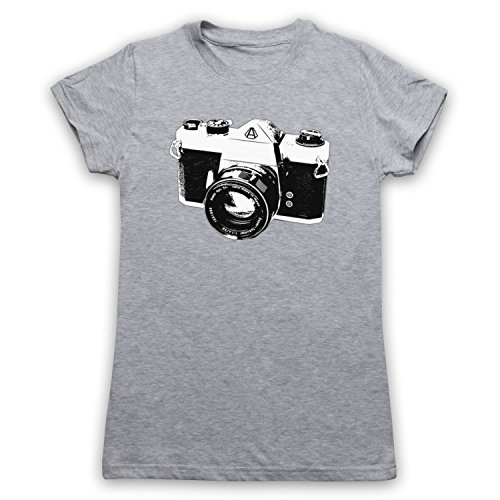 Mijn Icon Art & Kleding Vintage SLR Camera Womens T-Shirt